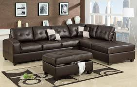 High End Leather Sectional Sofa Espresso Leather Sectional Sofa F7358 Lowest Price Sofa