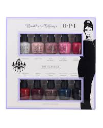 opi mini set breakfast at tiffany u0027s collection 2016 the