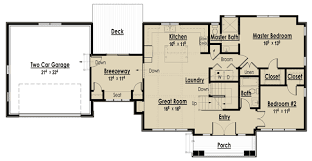 breezeway house plans plan 18243be bungalow with den like breezeway breezeway and house