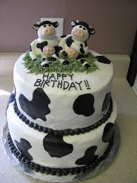 cow cakes u2013 decoration ideas little birthday cakes