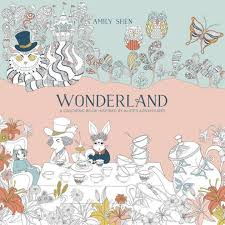 wonderland coloring book inspired alice u0027s adventures