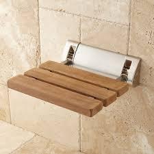 Folding Shower Seat Teak Modern Folding Shower Seat Bathroom Images On Fascinating
