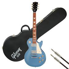 light blue gibson les paul gibson les paul studio 2012 pelham blue with free gifts at