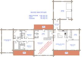 simple rocky mountain log homes floor plans pleasant 17 rocky