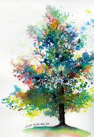 the triad tree watercolor techniques watercolors and simple