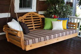 front porch swing bed karenefoley porch and chimney ever also