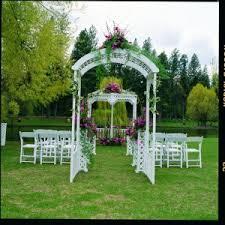 wedding arbor rental wedding rentals ta clearwater ceremony rentals