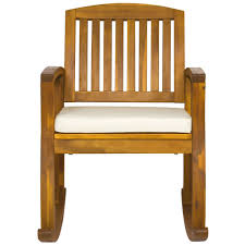acacia wood rocking chair u2013 best choice products