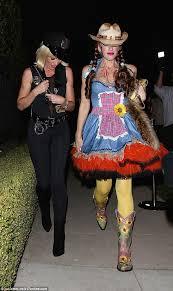 Halloween Cowgirl Costume Gwen Stefani Cowgirl Costume George Clooney U0027s