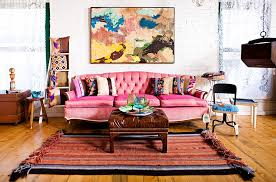 Bohemian Style Living Room  Bohemian Inspired Living Rooms - Bohemian style interior design