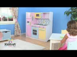 kidkraft island kitchen kidkraft large pastel kitchen walmart com