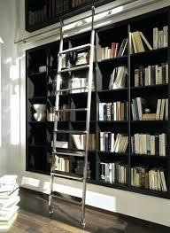 Bookcase Ladder Hardware Bookcase Fayence Library Bookcase Ladder Library Bookcase