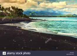 black sand beach bali stock photos u0026 black sand beach bali stock