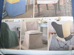 simplicity 8261 sewing pattern chair covers 5 styles home decor