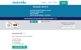 250 315 symantec real exam questions 100 free exam labs