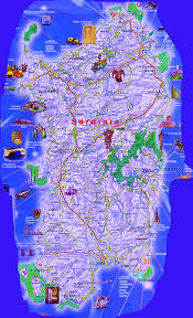 Where Is Italy On The Map by Sardinia Tourist Map Sardinia U2022 Mappery Sardinia Pinterest