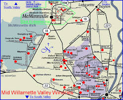 map of oregon wineries map to the wineries of oregon s mcminnville and eola amity