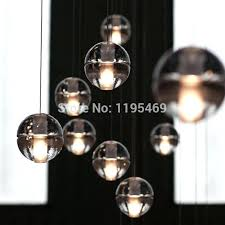 cityscape large led pendant light commercial lights fixtures