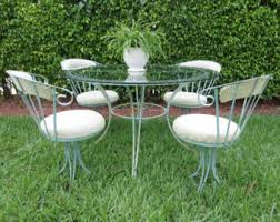 Patio Set With Swivel Chairs Wrought Iron Patio Furniture Dallas Roselawnlutheran