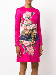 print dress dolce gabbana zambia print dress 3 450 buy aw17 online fast
