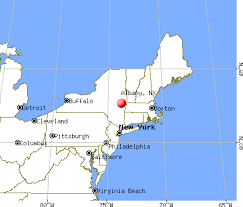 albany map albany york map the states and capitals