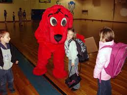 Clifford Big Red Dog Halloween Costume Clifford Big Red Dog Visits