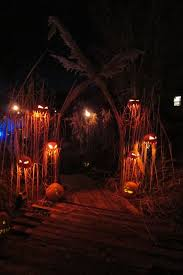 spooky decorations different way to stage pumpkins freaking awesome