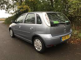 vauxhall corsa 2004 used 2006 vauxhall corsa design 16v twinport for sale in cambs