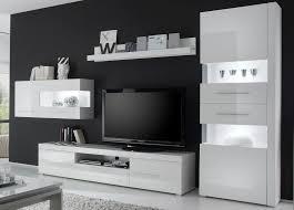 Wohnzimmerschrank Lack Schlichte Wohnwand Dekoration Und Interior Design Als