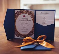 and the beast wedding invitations and the beast themed wedding invitation luxury pocket
