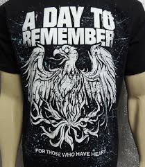 camiseta a day to remember for those who have heart r 46 90