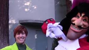 peter pan and tinker bell play hide and seek at disneyland youtube
