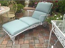 Wrought Iron Lounge Chair Patio Chaise Lounge Chairs I Found 2 Just Like This And Made A