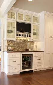 Backsplash In Kitchen Top 25 Best Tv In Kitchen Ideas On Pinterest A Tv Built In