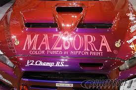 maziora color tuned by nippon paint evolutionm mitsubishi