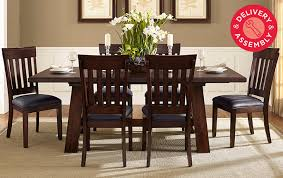 dining room the most wynnwood extendable table 6 chairs costco uk