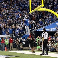 calvin johnson thanksgiving lions overcome mistakes dominate packers to take command of nfc