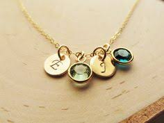 mothers necklace with birthstones personalize this mothers birthstone necklace that can be