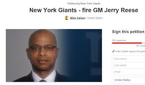 Reese Meme - new york giants fans start petition to fire gm jerry reese total