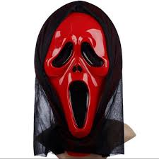 Scary Mask Wholesale Halloween Masks Party Scary Mask Ghost Mask Face Scream