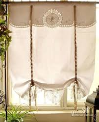 Tie Up Valance Curtains Tie Up Valance Curtains Musicaout