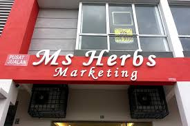 ms herbs marketing signboardmaker net malaysia advertising