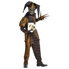 medieval halloween costume mens joker evil clown circus jester medieval halloween fancy dress