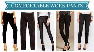 Comfortable Work Pants Pretty Pieces September 2014