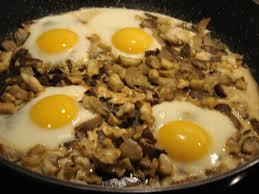 cuisiner les pleurottes oeufs au plat aux pleurotes bio cuisine végétarienne bio