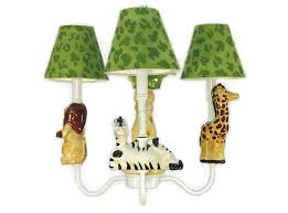 nursery wall light fixtures kids lighting safari friends chandelier jungle theme animal