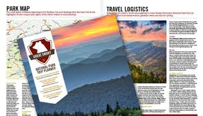 Great Smoky Mountains National Park Map Free Trip Planner For Great Smoky Mountains National Park My