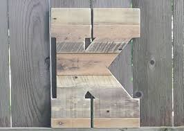 Barn Wood Letters Large Rustic Wood Letter Rustic Home Decor Reclaimed Wood