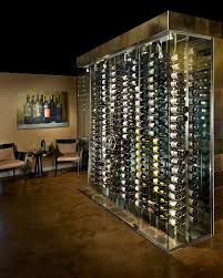 turning closet into bar small glass wine cellar gl enclosure modern cabinets in black