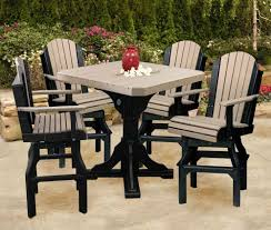 Amish Poly Outdoor Furniture by Amish Recycled Plastic Outdoor Furniture